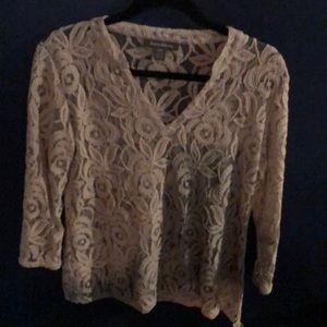 Tommy Bahama lace shirt